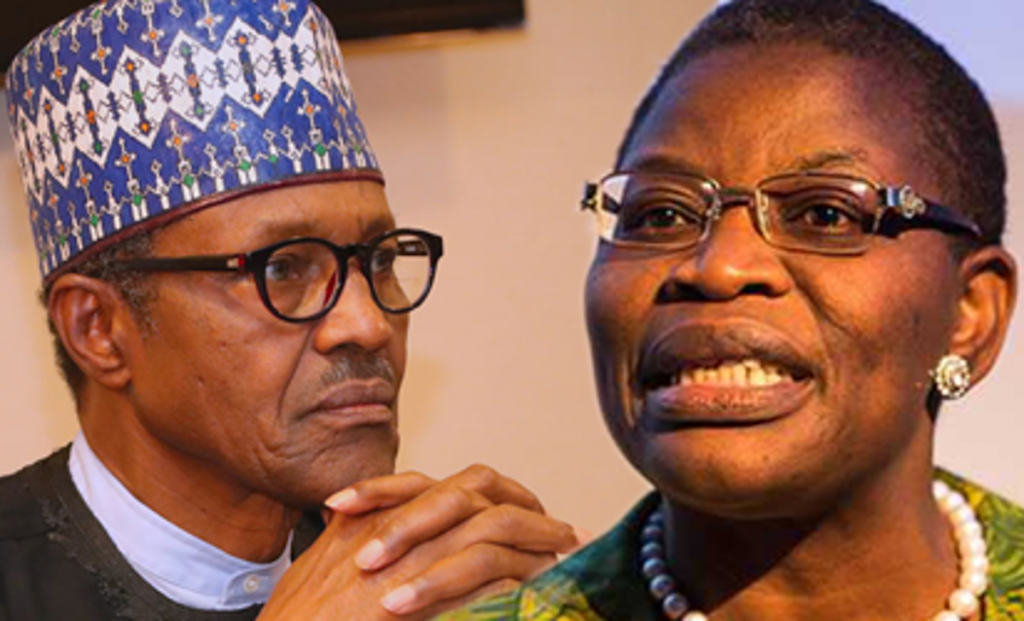 'You may be in office but definitely not in power'- Oby Ezekwesili to President Buhari