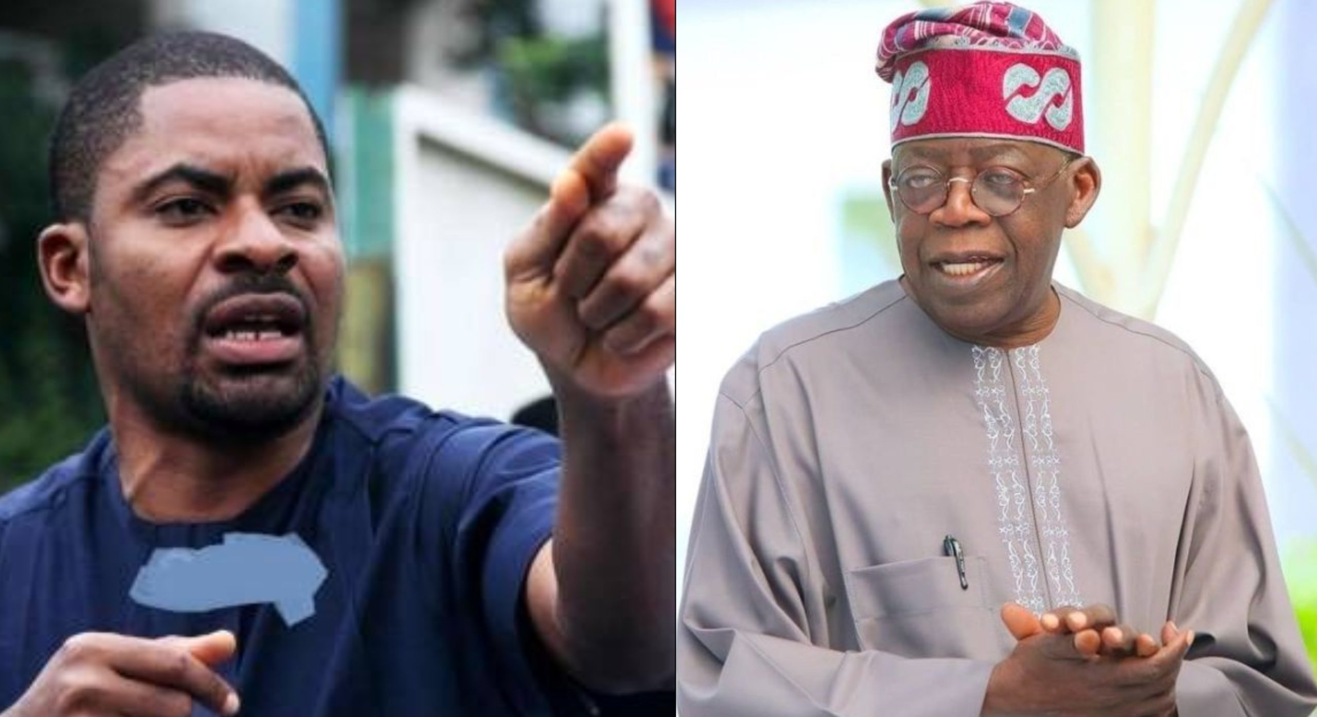 Be Courageous, Suspend Buhari From APC - Deji Adeyanju Tells Tinubu