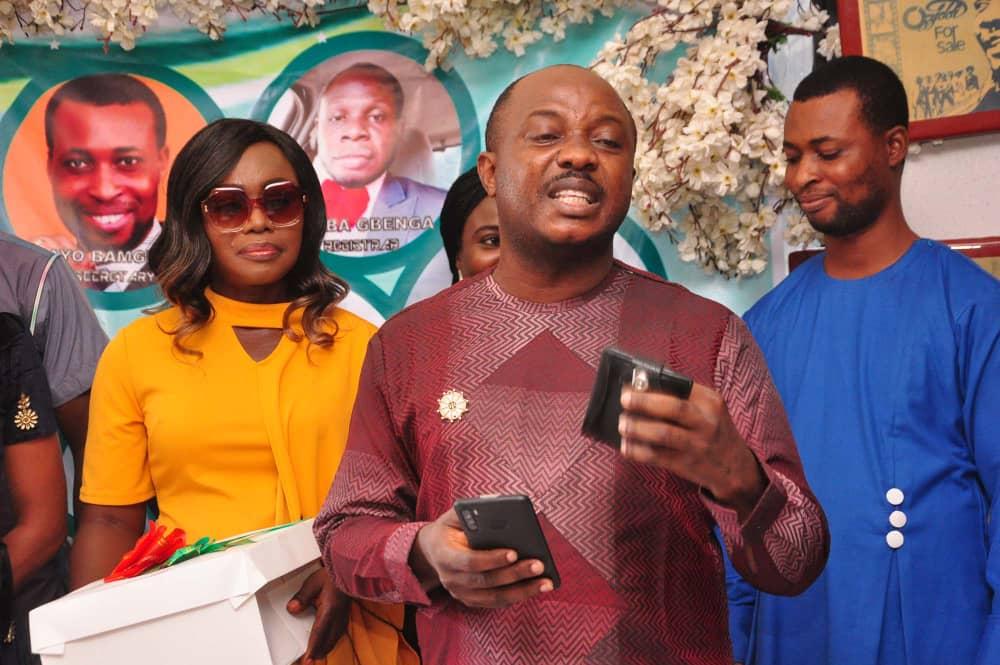 Oyewale Femi takes oath of office as NAOSRE President, congratulates Adejobi on birthday