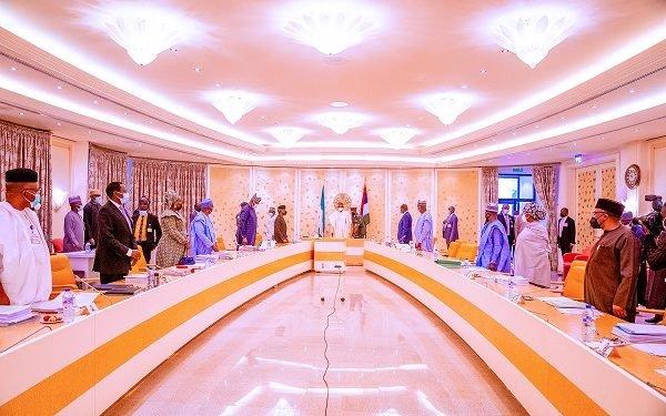 PHOTOS: Buhari presides over virtual FEC meeting